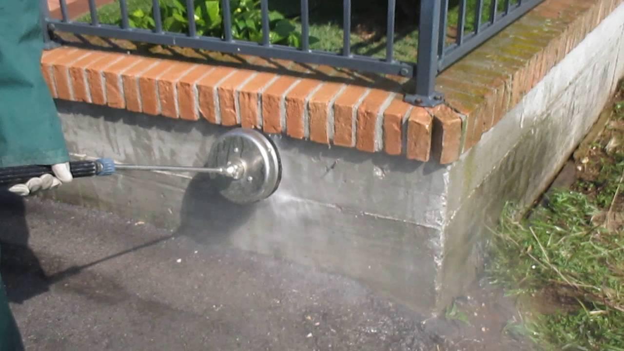 Pulizia muretto di recinzione in mattoni che fare 1 - Muretti da giardino ...