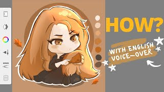 HOW TO CHIBI? |Tutorial using phone only✨ screenshot 3
