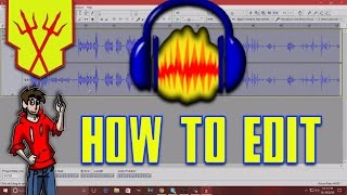 How To Edit Audio For Youtube With Audacity
