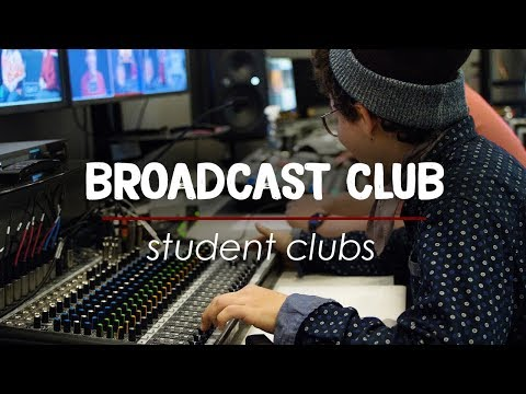 Broadcast Club | Student Life