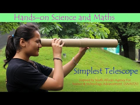 Simplest Telescope  | Hindi