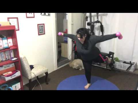 Weight loss Fitness Vlog, Barefoot sculpt  , Jessica Smith 6 w/d 5 , Jumping Rope