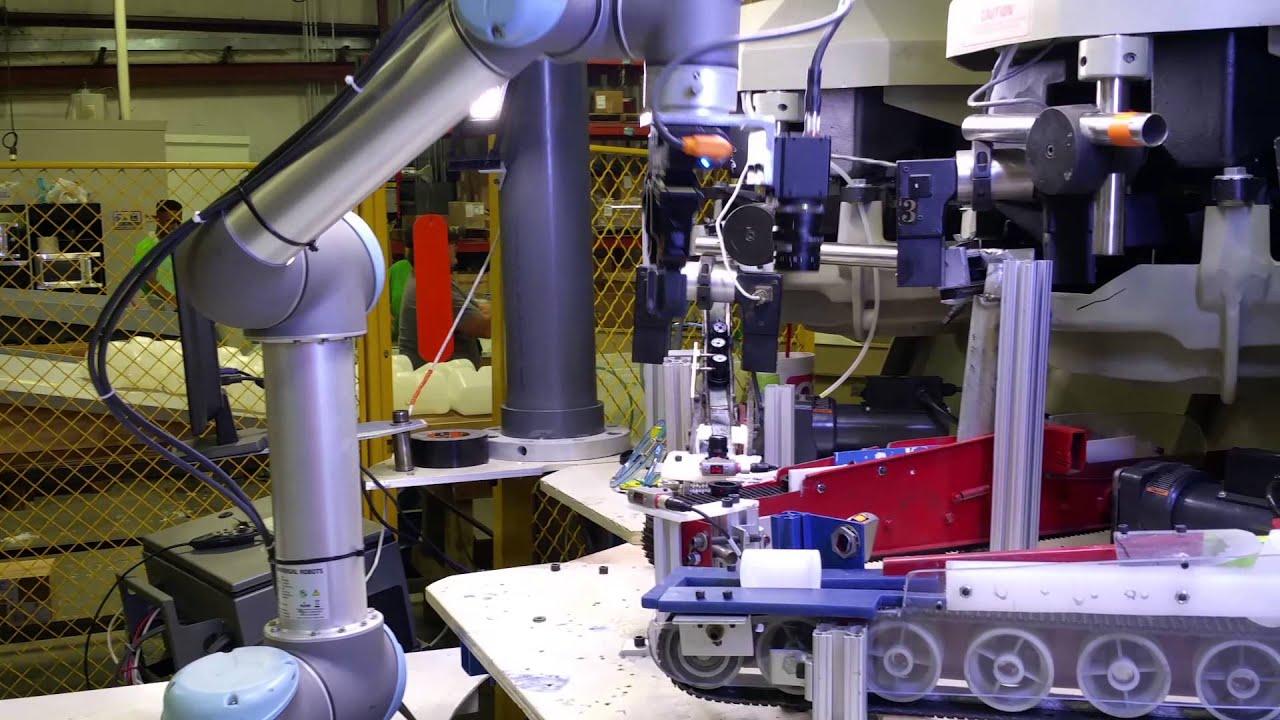 Keyence Camera On Universal Robot Youtube