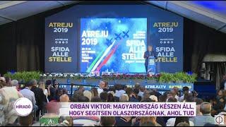 Orbán Viktor: Magyarország készen áll, hogy segítsen Olaszországnak, ahol tud