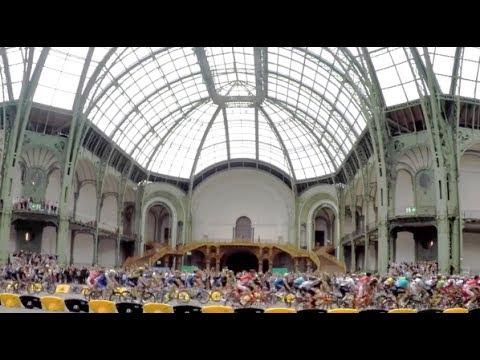 Un petit tour et puis s'en va : le Tour de France au Grand Palais !