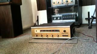 Radson FM-40 Receptor Amplificador de bulbos de los 70´s