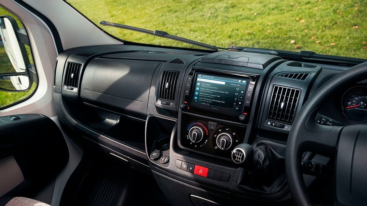Fiat Ducato Motorhome Fitted With Pioneer Avic Evo1 Dt2 C Gr Youtube Wiring Diagram