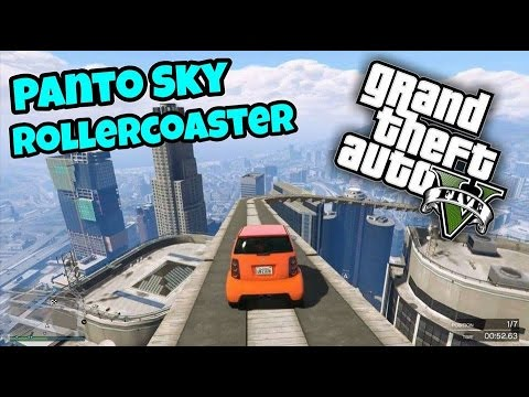 "GTA 5: Fun Races #7 ""Sky Rollercoaster"""