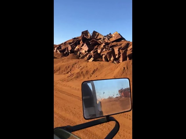 A Runway Train Traveled 57 Miles Through Australia's Outback