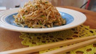 Корейская кухня: Сук Джу Намуль (숙주나물) маринованные ростки маша