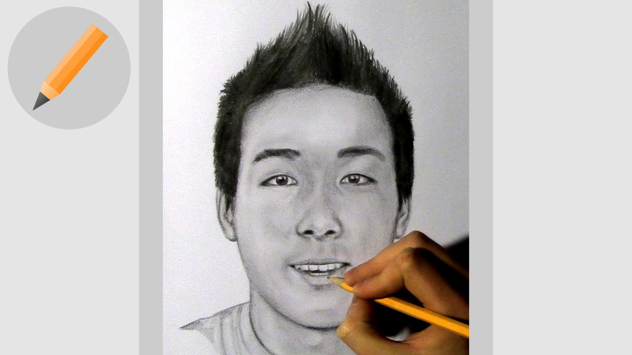 Vanossgaming pencil drawing youtube