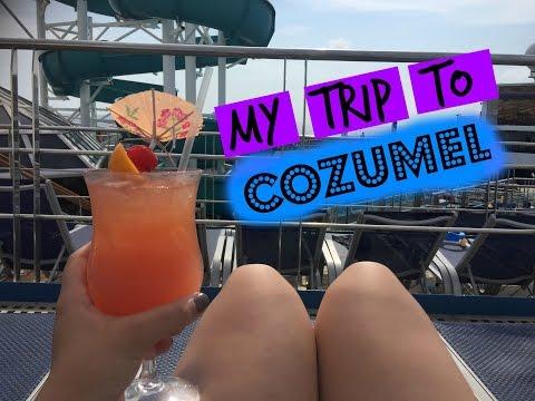 My Trip to Cozumel