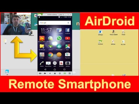 TOP: AirDroid Connect PC with Smartphone, Remote App vs SideSync
