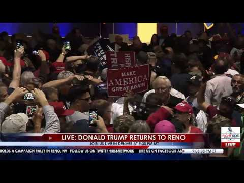 Secret Service Stops Possible Trump Assassination Attempted? In Reno, NV 11/5/16