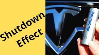 how Panasonic Shutdown Affects Tesla