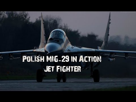Polish MIG-29 in Action | Jet Fighter | |2015|