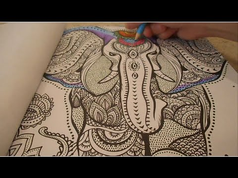 ADULT COLOURING BOOK HARMONY OF COLOURWATCH ME COLOUR