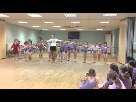 Elin Jones Grade 1 ballet Dance section