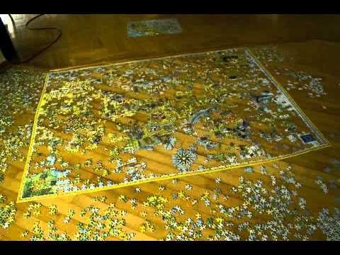 4000 pieces of puzzle in 1 minute youtube. Black Bedroom Furniture Sets. Home Design Ideas