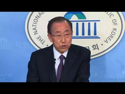Ex-UN chief Ban Ki-moon abandons South Korea presidency bid