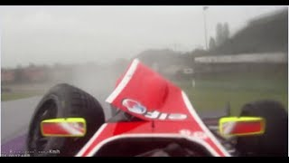 Zero Visibility Crash at Imola!