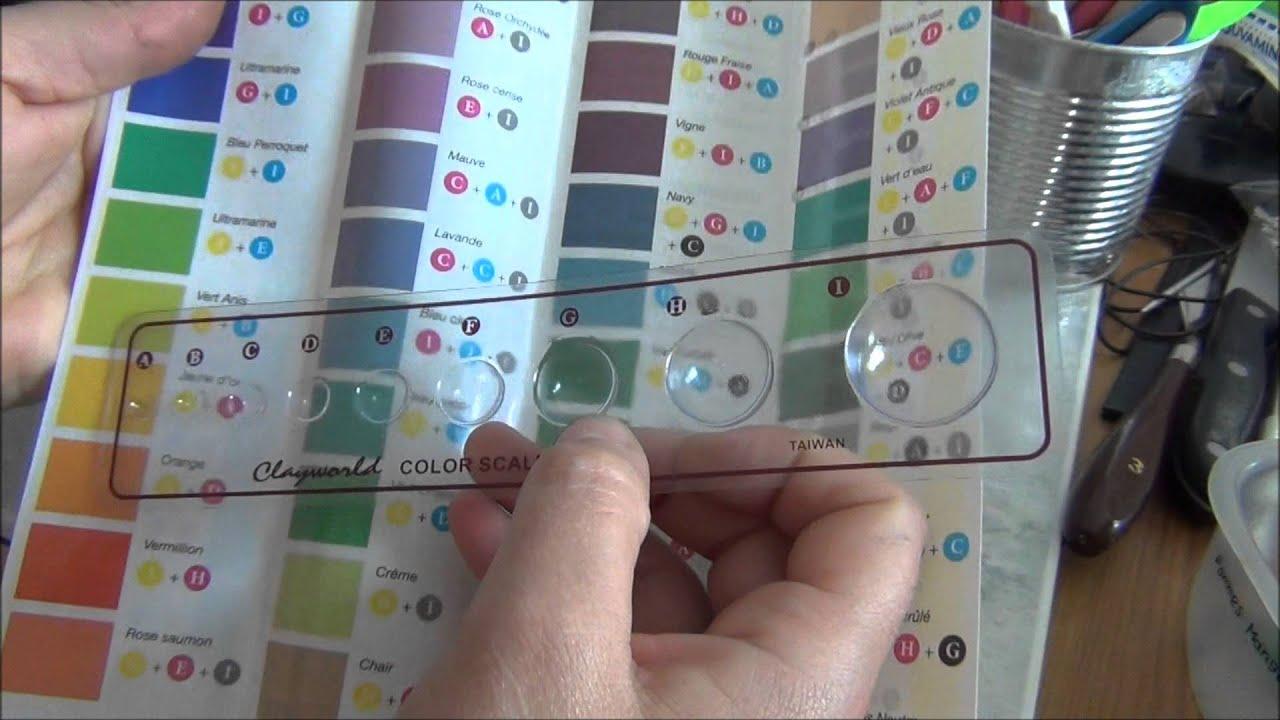 046 nuancier fimo polymere nuances faites vos couleurs. Black Bedroom Furniture Sets. Home Design Ideas