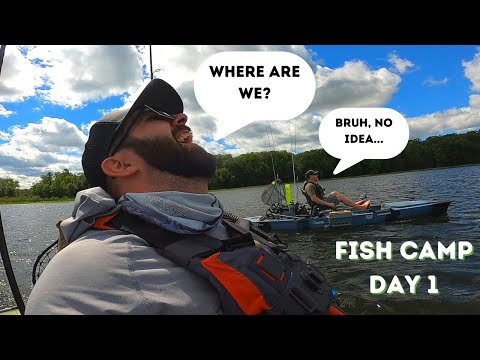 Fish Camp Adventure (Lost On A Chain Of Lakes)   Day 1