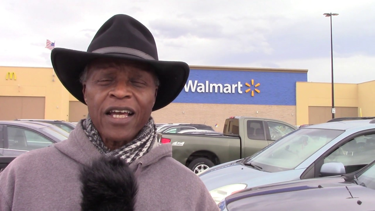 Trump Train Commercial Lloyd Marcus The Unhyphenated American at WalMart 2-16-2020