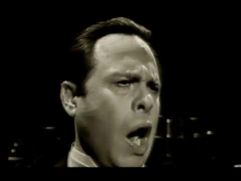 George London. Despedida y muerte de Boris Godunov.  TV, 1962.