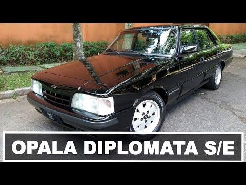 Opala Diplomata SE 1992 (câmbio manual, 70 mil km) | Garagem do Bellote TV