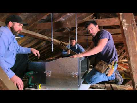 Daikin Australia: Ducted air conditioning installation (The Home Team Season 2 Episode 15)