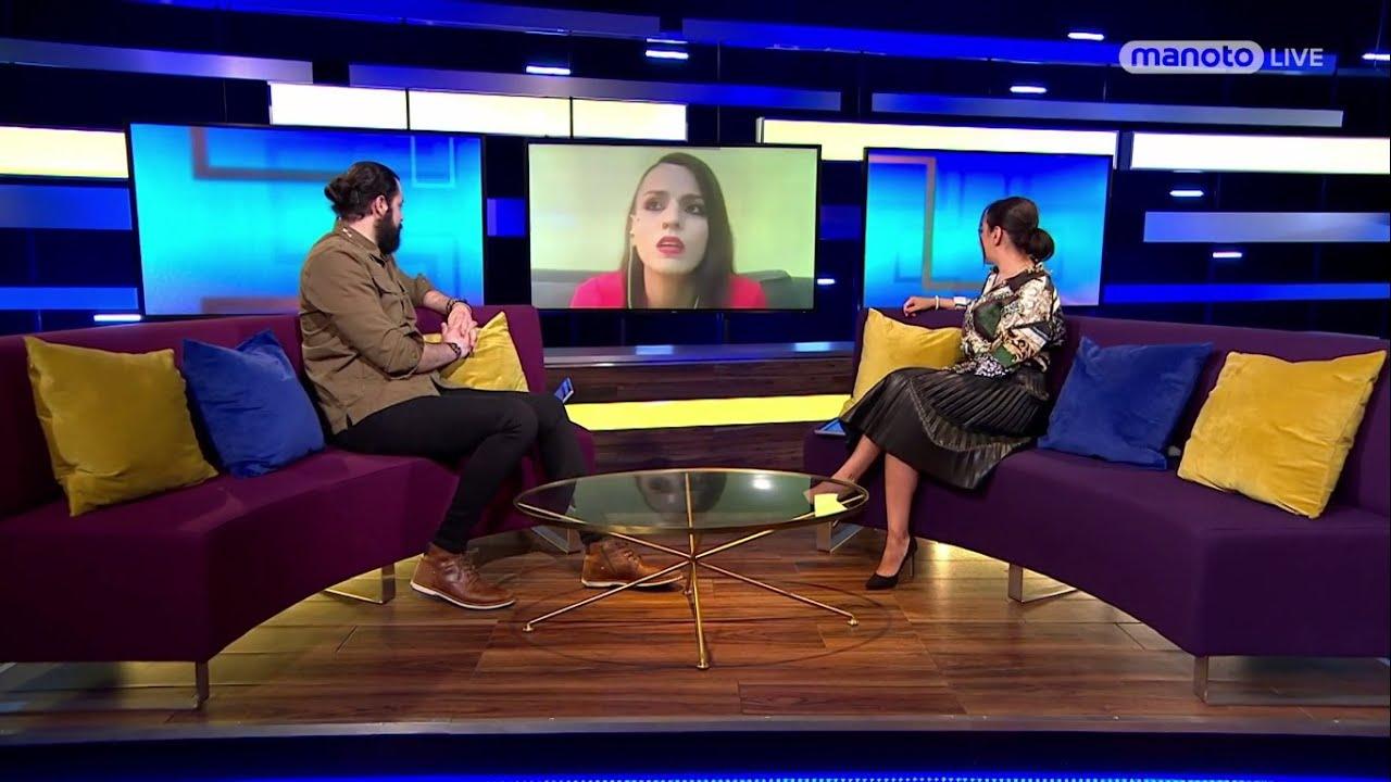 MANOTO TV Interview with Anahid M.O.P  آناهید خواننده راک و متال ایرانی در تلویزیون منوتو