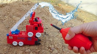 Aircraft, fire truck, racing cars, spider cars - F345V Toys for kids