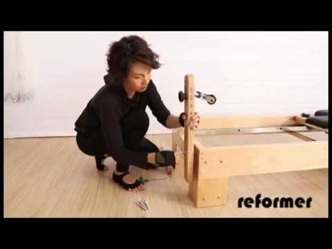 Pilates Equipment Fitness | Pilates Reformer Assembly Instructions Video