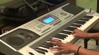 "KEYBOARD TECHNO T9900i Mmc/FD Sampling ""Grahasta Music"" demo Grand Piano"
