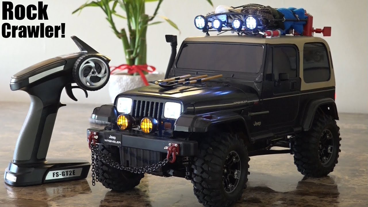 Rc Toys An Rc Vehicle 1 10 Scale Jeep Wrangler Rock