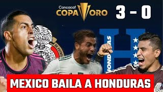 México 3 - 0 Honduras Así lo NARRARON los HONDUREÑOS / solo narración