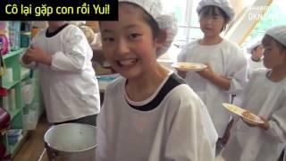 Ý thức trẻ em Nhật bản từ bữa ăn trưa