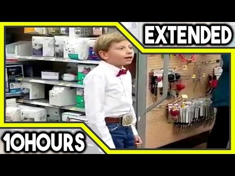 Kid Singing in Walmart (Lowercase EDM Remix) [10 HOURS]