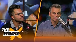 Nick Swisher and Colin Cowherd react to the Houston Astros winning the 2017 World Series | THE HERD