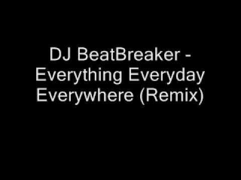 DJ BeatBreaker - Everything Everyday Everywhere (Remix)