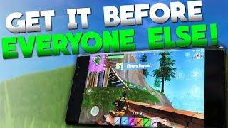 How To Get Early Access For Fortnite Mobile Android! + Release Date?