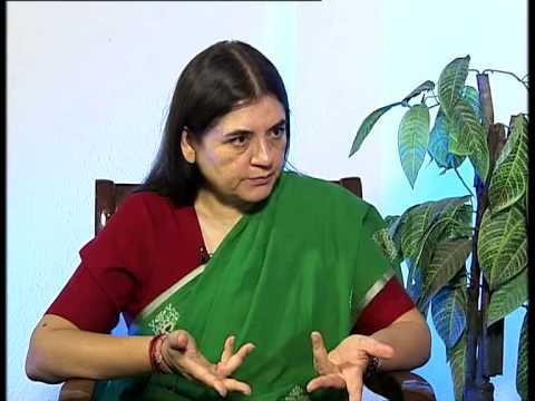 Interview with Maneka Sanjay Gandhi, Minister of Women and Child Development