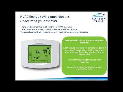 Heating Ventilation and Air Conditioning - Green Business Technology Webinar