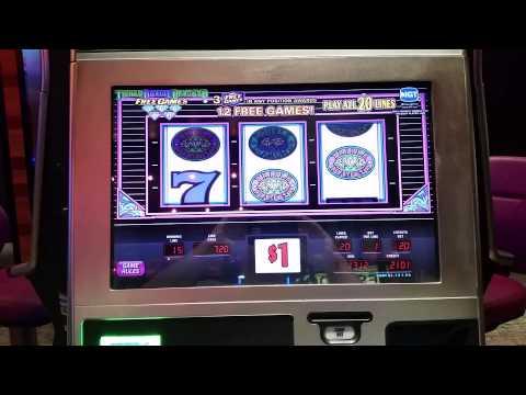 Triple Double Diamond slot jackpot $20 max bet