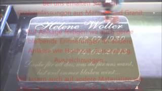 B-Laserlight - Beschriftungen von Grabsteinen, Urnengräbern und Gedenktafeln