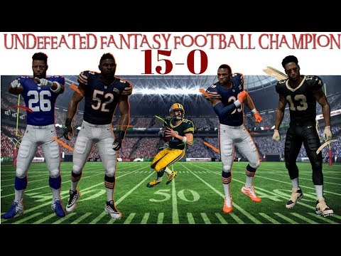 HOW TO GO UNDEFEATED IN FANTASY FOOTBALL 2019 (TIPS AND TRICKS)