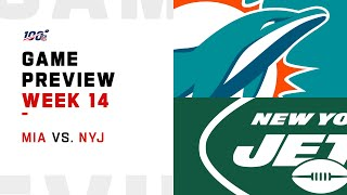 Miami Dolphins vs New York Jets Week 14 NFL Game Preview
