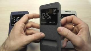 чехол (книжка) для Samsung J710 Galaxy J7 2016 Nillkin Sparkle обзор