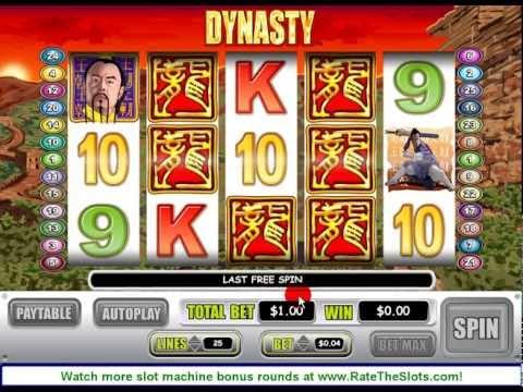 Dynasty riches slot machine online